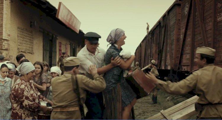 """Scenă din cadrul filmului """"Siberia din oase"""""""