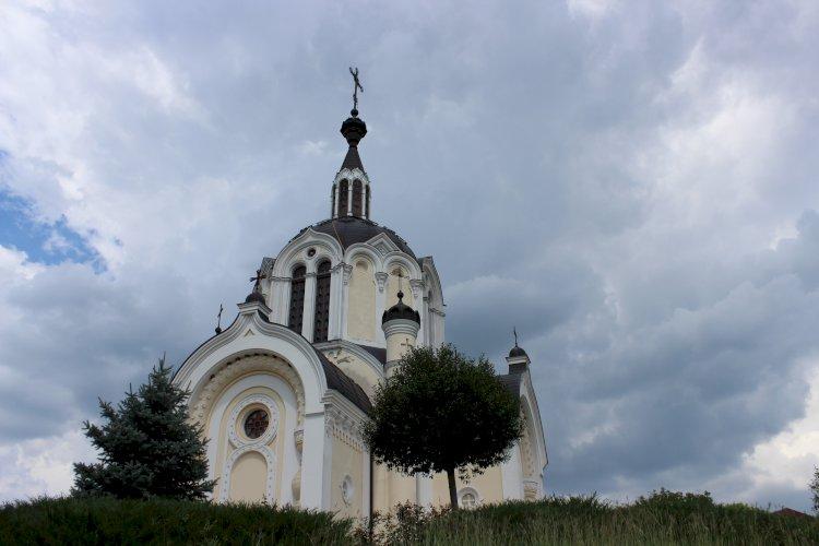 Biserica cu  hramul Adormirii Maicii Domnului din satul Donici