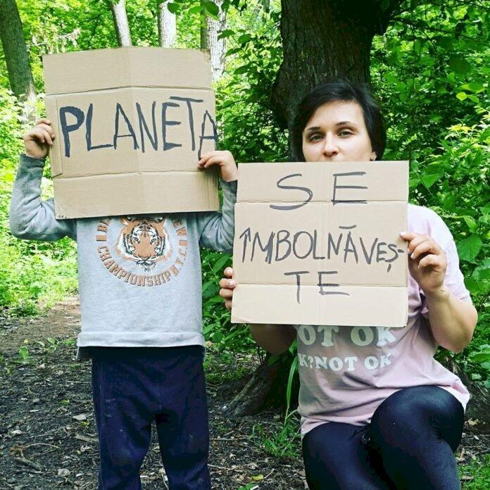 Dorina Sorochin, fondatoarea comunităților paginii Green Up Mom și GoingZeroWaste