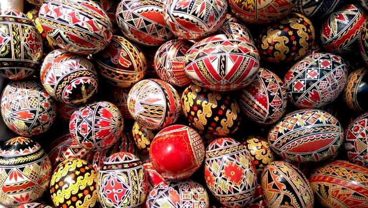 Încondeierea ouălor de Paște