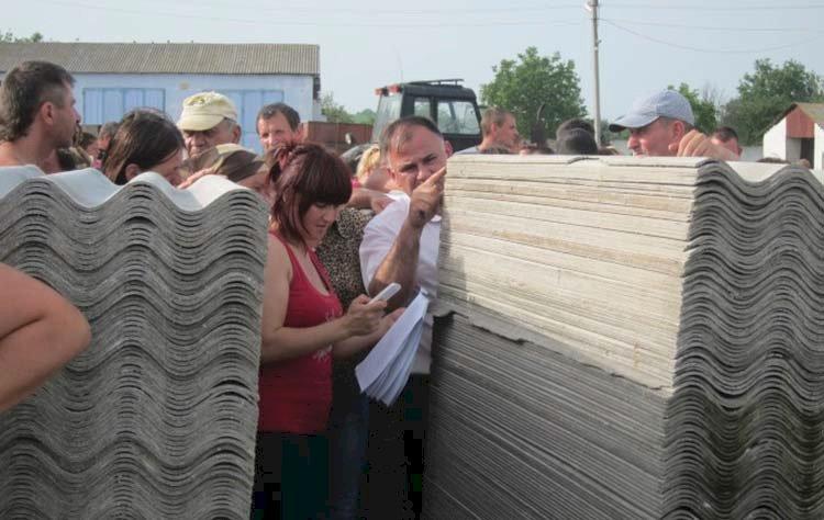 Azbestul cancerigen are poarta deschisă spre Republica Moldova