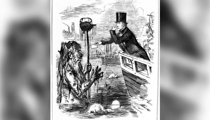 Marea Putoare din Londra: Duhoarea pestilențială din 1858
