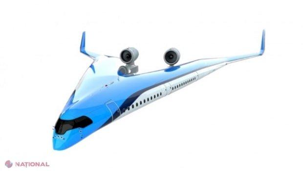 VIDEO // Aeronava eficientă energetic a viitorului, Flying-V, a zburat pentru prima dată