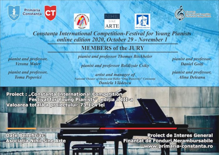 Constanța International Competition - Festival for Young Pianists