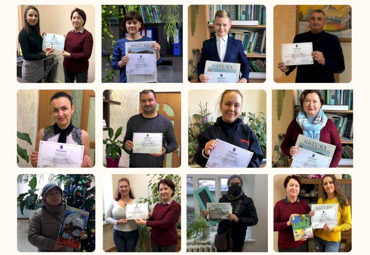 """Câștigătorii concursului """"Actualizarea datelor privind distribuția insectelor rare pe teritoriul Republicii Moldova"""""""