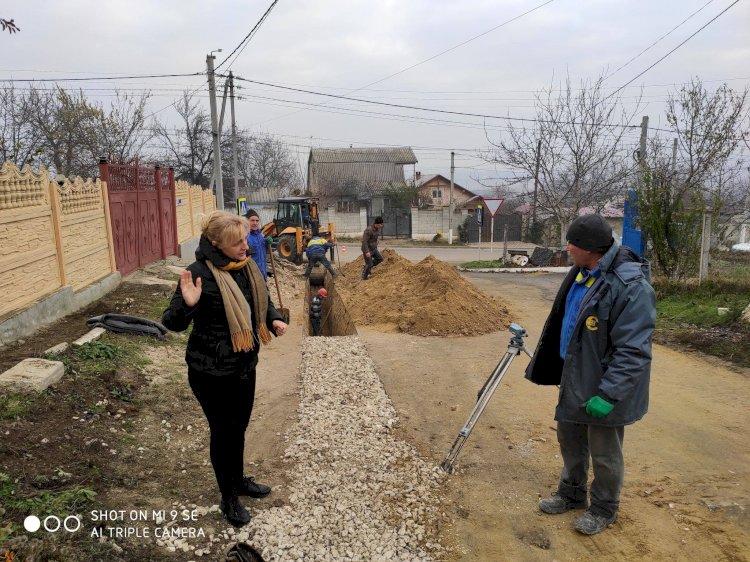 Locuitorii din Străşeni îşi asigură dreptul la apă şi sanitaţie