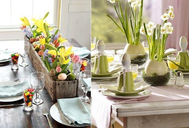 5 flori ideale pentru decorul mesei de Paște