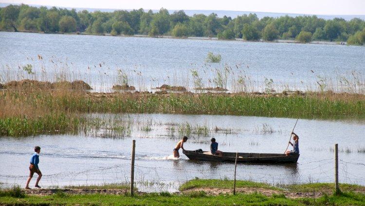 Pe drumul apei: de la Colibași la Giurgiulești