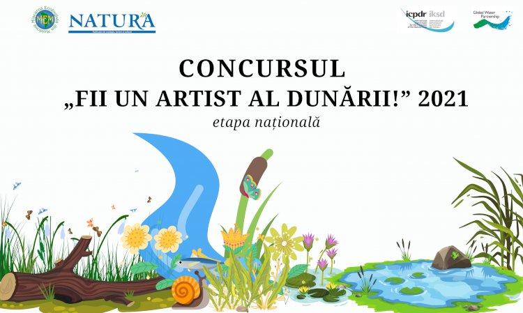 Concurs pentru copiii și tinerii din Republica Moldova: Fii un Artist al Dunării!
